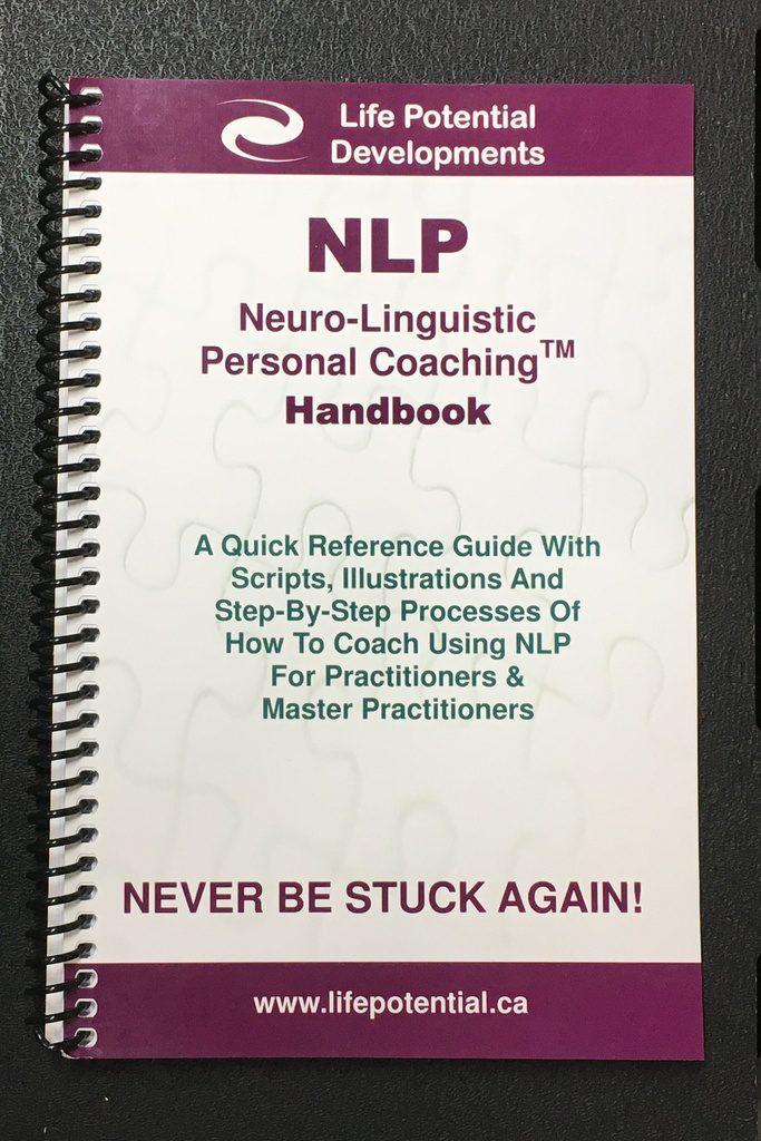 NLP Coaching Handbook image